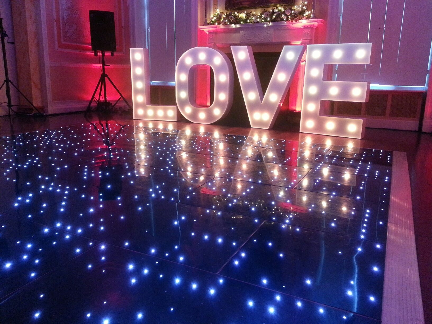 Why Every Wedding Needs A Magic Mirror And Led Dance Floor